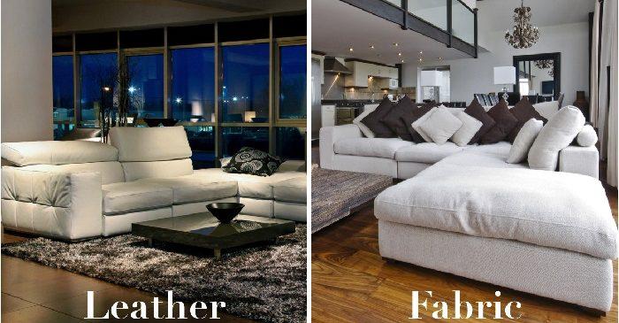 (English) Italian Leather Sofa VS Fabric Sofa, Which Is Better?