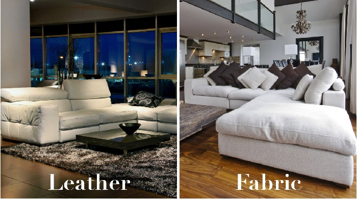 Pleasing Italian Leather Sofa Vs Fabric Sofa Which Is Better Beutiful Home Inspiration Xortanetmahrainfo